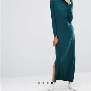 ASOS Noisy May Tall High Neck Jersey Maxi Dress
